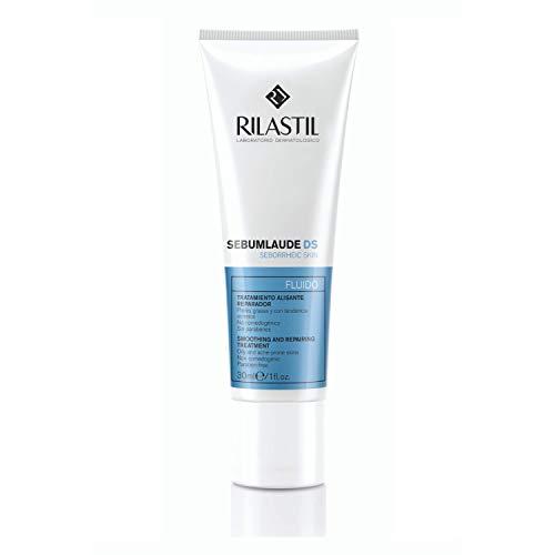 Rilastil Sebumlaude DS - Tratamiento Seborregulador, Reparador y Alisante para Pieles Grasas con Tendencia Acneica, 30 ml