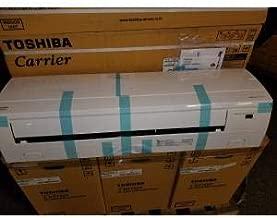 Toshiba/Carrier RAS-15EKV-UL 15,000 BTU Single-Zone Indoor Wall Mounted Heat Pump Mini-Split Unit w/Inverter, 20 SEER 208-230/60/1 R-410A CFM 562