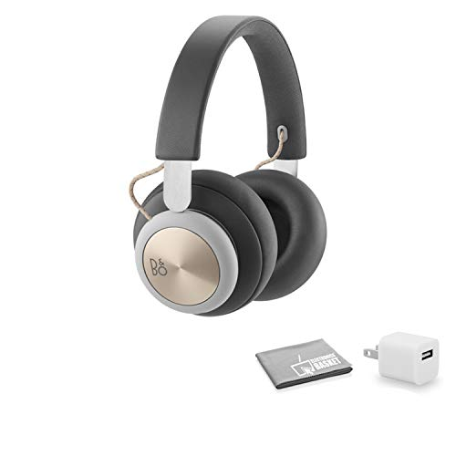 Bang & Olufsen Beoplay H4 Headphones (Charcoal Gray) with USB Wall Charger