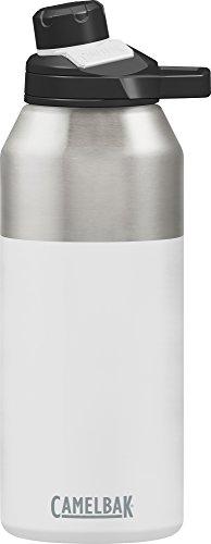 CAMELBAK Unisex– Erwachsene Chute Mag Vacuum isolierte Trinkflasche, White, 1200