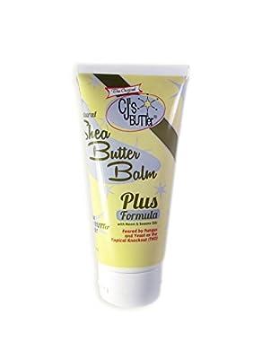 The Original CJ's BUTTer All Natural Shea Butter Balm - Plus Formula, 6 oz. Tube