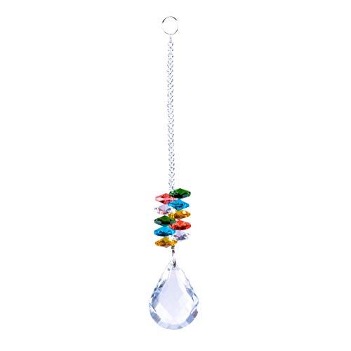 sdfsa Crystal Lighting Ball Elegant Crystal Joyas Colgantes Pendantangel Discotección Decoración DIY Joyería Colgantes para el hogar, Oficina, Decoración del jardín