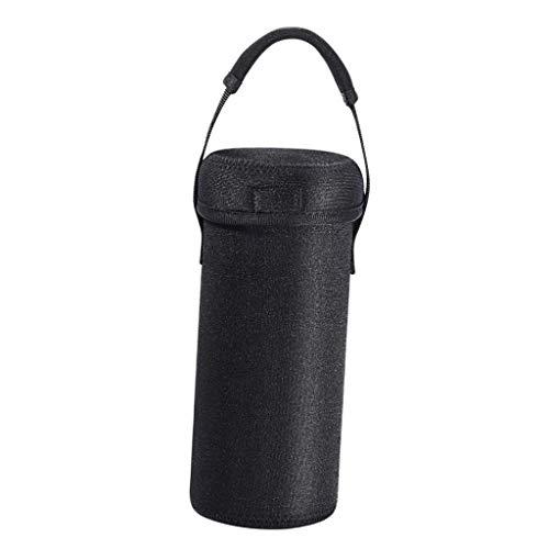 Gazechimp Estuche De Viaje De Neopreno Impermeable Negro, Bolsa De Bolsa Compatible con El Altavoz Bluetooth Inalámbrico Ultimate Ears UE Boom 3