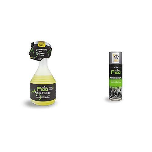 Dr. Wack - F100 Fahrradreiniger – NEUE FORMEL 750 ml I Premium Reinigung für das komplette Fahrrad I Hochwertige Fahrradpflege – Made in Germany & enreiniger, 300 ml