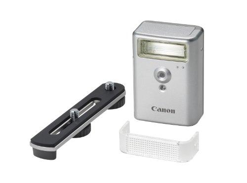 Canon HF-DC2 externes Blitzgerät (für D-SLR Kamera, Slave-Flash, Das Hochleistungsblitzgerät HF-DC2) silber