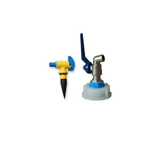 Details zu Metallhahn für Kanister PLUS Entlüftungshahn Wasserhahn Zapfhahn ***4 verschiedene Größen zur Auswahl*** (DIN61)