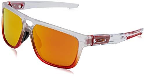 Oakley Crossrange Gafas de sol, Patch Ruby Mist Prizm Ruby, 60 Unisex