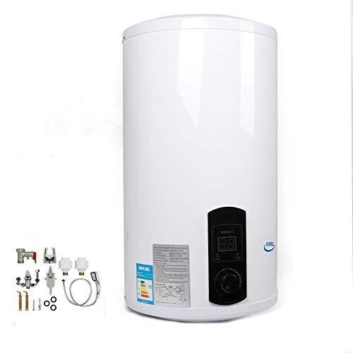 Warmwasserspeicher Elektrischer Warmwasserboiler Druckfest Dusche Wasserboiler Wandhängender Boiler Für Küche Bad (100L)