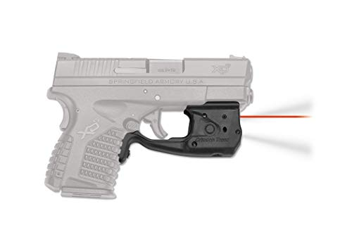 Crimson Trace LL-802 Laserguard Pro, Springfield Armory XD-S Crimson Trace LL-802 Laserguard Pro Red Laser Sight and Tactical Light for Springfield Armory XD-S Pistols