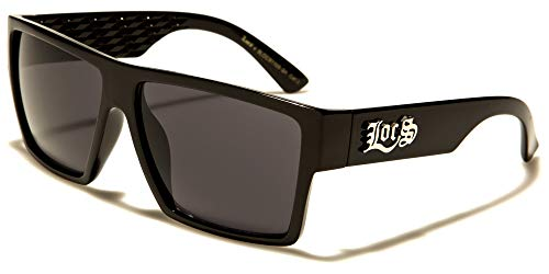Locs 8LOC91105-BK Sonnenbrille Hypster Urban Poker Rapper, Mode für Damen und Herren