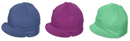 Sterntaler Casquette de la collection Pure Colour de taille 49, Iris