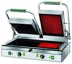 Grill pour panini pro - 545 x 300 mm - L2G