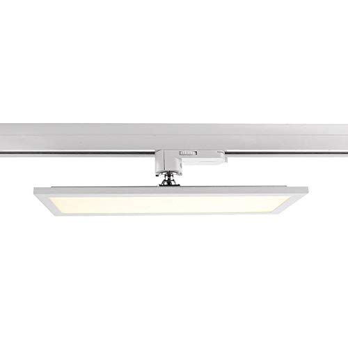 LED 3-Phasen Strahler PANEL TRACK LIGHT, 20W, 110-240V, 4000K, IP20, weiß mattiert EEK: A