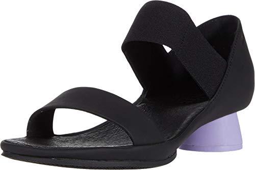 Camper Women's Heeled Sandals, Black, 10