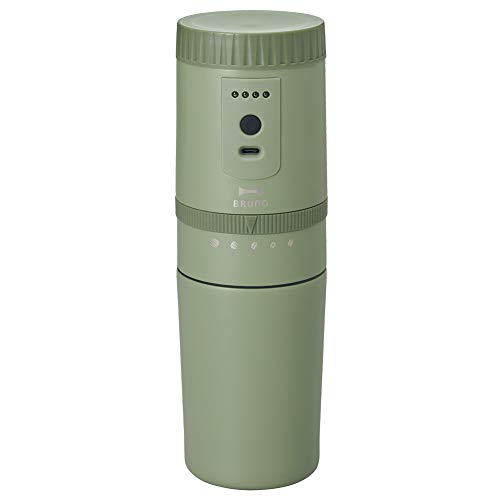 BRUNO 電動ミルコーヒーメーカー BOE080 [ カーキ ]