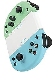 Gioteck Joycon switch - Controller wireless Bluetooth, colore: Blu e Verde