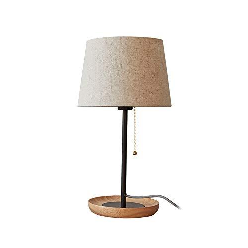 Luyshts Nórdico simple lámpara de escritorio moderno cálido dormitorio lámpara estudiar creativo hotel sala sala de estar escritorio lámpara 26 * 49 cm