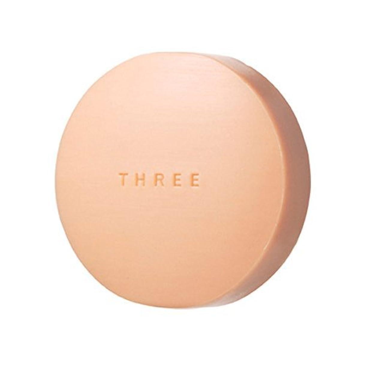 夕食を食べるくぼみ奨学金THREE(スリー) THREE エミング ソープ 80g