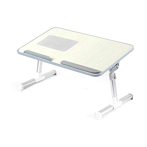 AMOYE Folding Table, Laptop Stand Lift Bed Desk Simple Folding Lazy Table for Game Writing Reading Breakfast,60x33x9cm