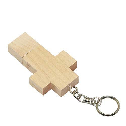 16GB croce di legno pendrive pen drive usb flash drive modello usb pen drive usb flash disk usb flash memory stick chiavetta usb disco flash card