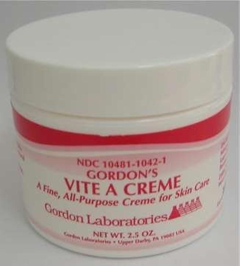 Gordon's Vite A Creme -2.5 Oz- All-Purpose Skin Care By Gordon Laboratories