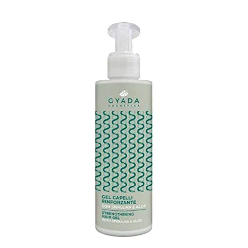 Gyada Cosmetics Gel Capelli Rinforzante Con Spirulina E Aloe - 100 Ml
