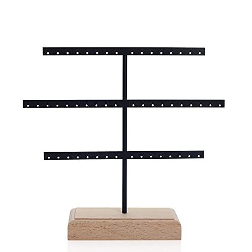Kudiro Caja de almacenamiento de joyería portátil pendientes collar caja de almacenamiento hogar caja de joyería
