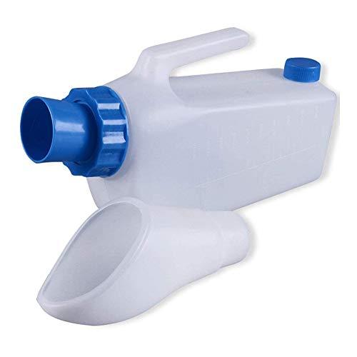 WRJ Urinabscheider Für Alte Männer Männliche Urinflasche Umweltschutz Tragbares Auslaufsicheres Urinal Aus Kunststoff Für Mich Auslaufsicheres Urinal,2000ml