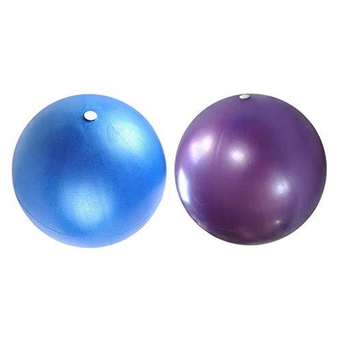 lahomia 2 Piezas Bola De Ejercicio Pilates Balance Trainer Yoga Fitness Gym Balls