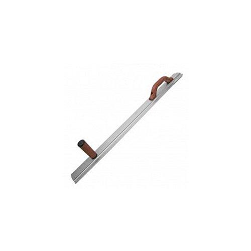 Marshalltown 14626, paleta alisadora con 2 mangos DuraSoft, de magnesio, para suelos y hormigón, dimensiones: 914x79 mm, la plata