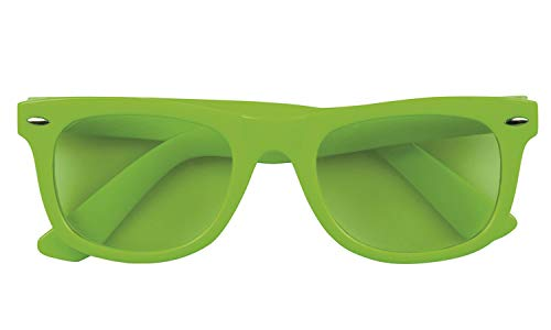 Boland 02622 Brille Dance, Unisex– Erwachsene, Neongrün, Taglia Unica