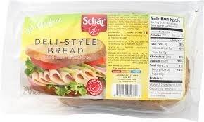 Schar Deli-Style Bread Gluten Free -- 8.5 oz Each / Pack of 2