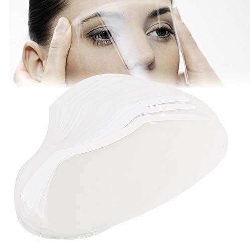 Visage De Coiffure Protéger Masque, Masque De Bouclier De Fixatif Coiffeur Coiffeur Salon De Coiffure 50pcs Pour La Coupe De Cheveux