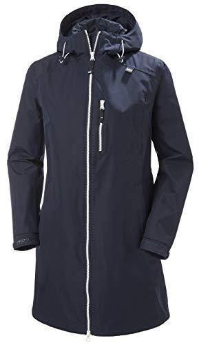 Helly Hansen W Long Belfast Jacket Chaqueta, Mujer, Navy, XS
