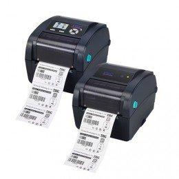 TSC 99–059A001–54lf TC210+ RTC imprimante TT 203dpi, 6Imps, Bleu marine, 64Mo