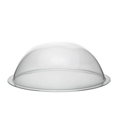 Acrylglas/Plexiglas® Halbkugel mit 300mm Durchmesser und umlaufender Krempe - Zeigis®