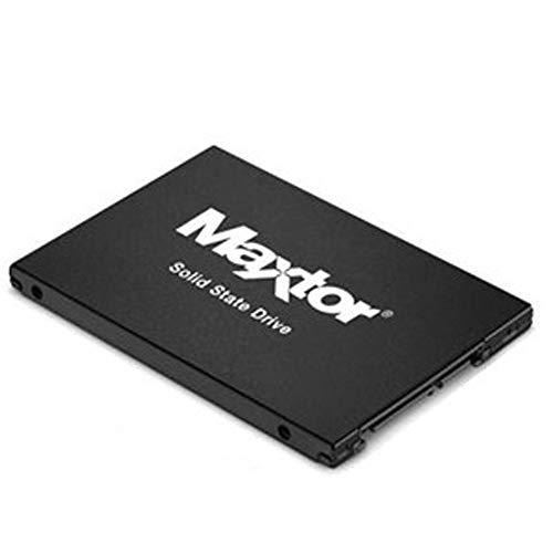 """Seagate YA240VC1A001 Maxtor Z1 Disco Duro sólido - 240 GB, SATA, 6 GB/S, 2,5"""", Color Negro"""