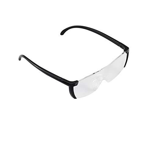 BALLSHOP 160% Vergrößerungsbrille Lupenbrille Zauberbrille Lupe Optische Vergrößerung Etui