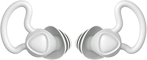 WSVULLD Tapones para los oídos para el ruido del sueño Cancelación, 2 pares Reutilizables Libros de audífonos...