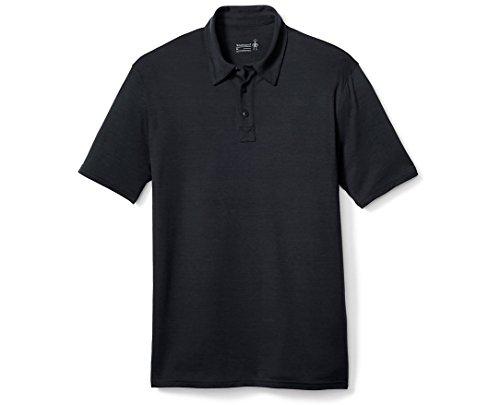Smartwool Merino 150 Pattern Polo Herren Charcoal Größe XXL 2019 Kurzarmshirt