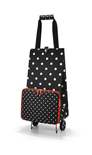 Reisenthel foldabletrolley Mixed Dots Bolsa de Viaje 66 Centimeters 30 Negro (Mixed Dots)