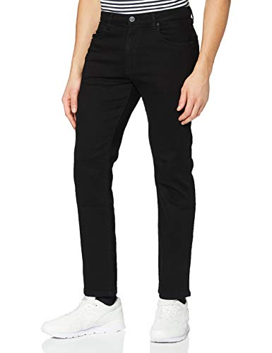 Wrangler Arizona Pants Denim, Noir (Black Valley 19A), 40W / 30L Homme
