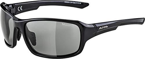 ALPINA LYRON VL Sportbrille, Unisex– Erwachsene, black, one size
