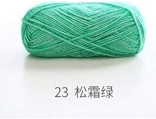 Wang shufang 130M / 50 g/Arc-en-Segment Fil Laine Dyed Bricolage Main Tricot Pull bébé Hat écharpe Coussin Sofa (Couleur :...