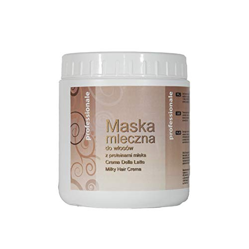 BSB Hair Mask with Milk Protein for Dry, Damaged and Chemically Treated Hair - 1000ml