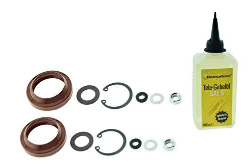 S50 S51 SR50, Reparatur Satz Telegabel Kleinteile mit ÖL für Simson
