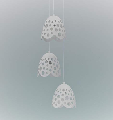 Twist Design englee Lustre E27, 40 W, Blanc, 19.5 x 19.5 x 125 cm