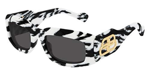 Balenciaga - Gafas de sol Sunglasses BB0071S 54/22/135 004 White White Grey Mujer