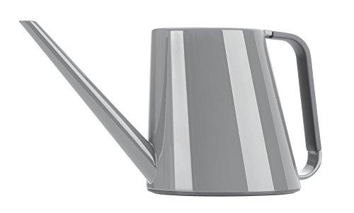 Emsa 516671 Gießkanne, Volumen 1,8 Liter, Kunststoff, Staubgrau, Loft