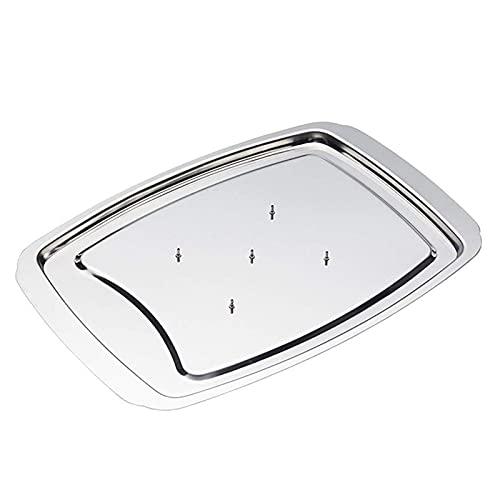 Kaijia Acero inoxidable parrilla de asado Microondas Turquía Bakeware carne rack asado rack para calentar alimentos en ollas a presión